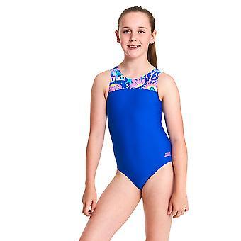 Zoggs Ocean Play Infinity Back Swimwear For Girls