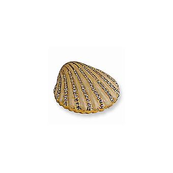 Clam Shell Schmuck Box