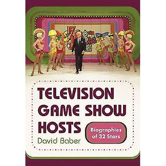 Juego de televisión acoge - biografías de 32 estrellas por David Barber-