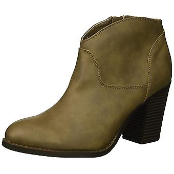 XOXO Women's Cammie Ankle Boot Dark Taupe 8.5 M US