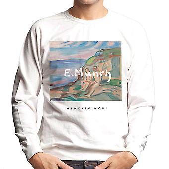 A.P.O.H Edvard Munch Beach Painting Memento Mori Men's Sweatshirt