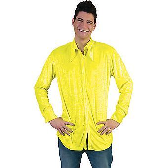 Neon Disco Dancer Shirt Men's Costume 80 Er Minim Party Reggae Men's Costume