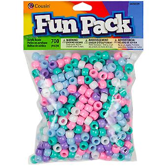 Pony Bead Mix Pastel Ccmix 34139