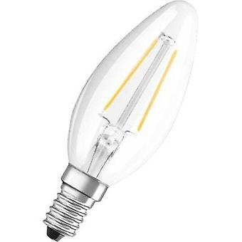 LED (monochrome) OSRAM 230 V E14 2 W = 25 W Warm white EEC: A++ Candle (Ø x L) 35 mm x 99 mm 1 pc(s)