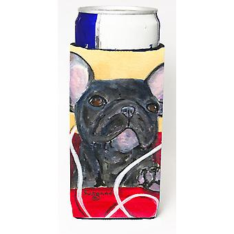 French Bulldog Ultra Beverage Insulators for slim cans SS8899MUK
