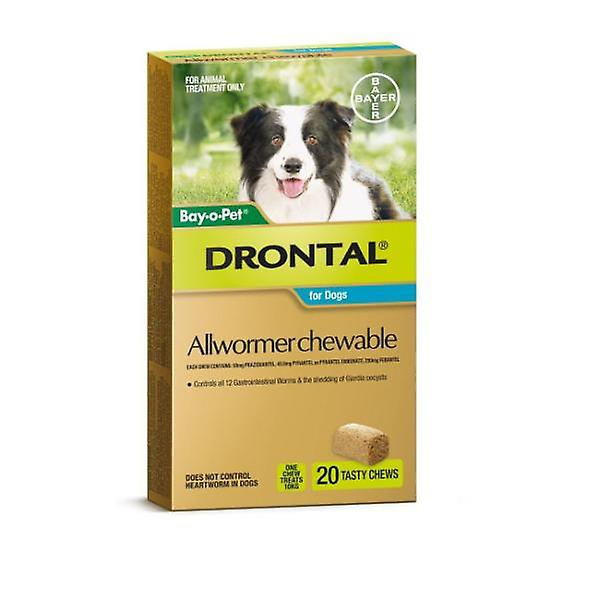 Drontal Chewable 10kg 20pack