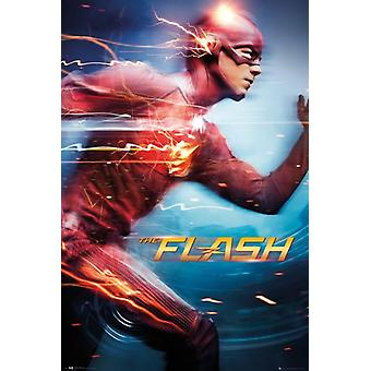 The Flash - Speed Poster Poster Print