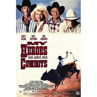 Meine Helden sind seit jeher Cowboys Movie Poster (11 x 17)