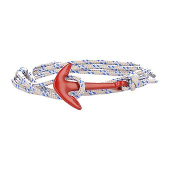 Vikings red-line anchor strap nylon in grey with red anchor
