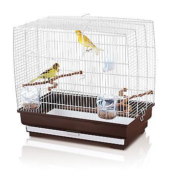 Irene 3 Small Bird Cage White 51x30x48cm (20x12x19