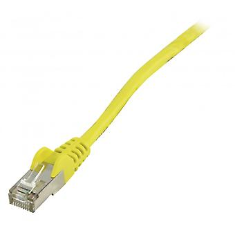 ValueLine FTP CAT 5e network cable 5.00 m yellow