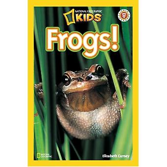 Frogs (National Geographic Readers) (Paperback) by Carney Elizabeth