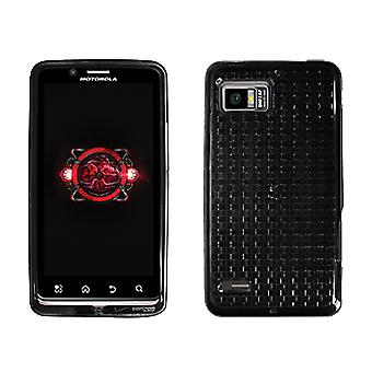Verizon High Gloss Silicone Cover Motorola Droid Bionic (Black) (Bulk Packaging)