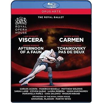 Carmen - Viscera - Afternoon of a Faun - Tchaikovy [Blu-ray] USA import