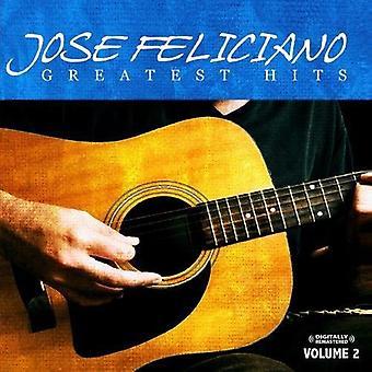 Jose Feliciano - Jose Feliciano: Vol. 2-Greatest Hits [CD] USA import