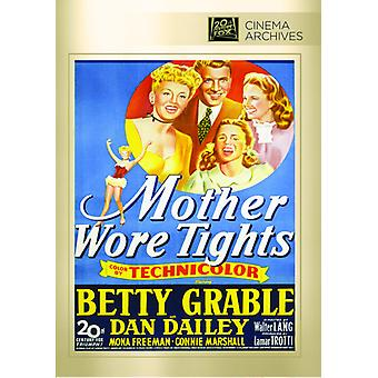 Mother Wore Tights [DVD] USA import