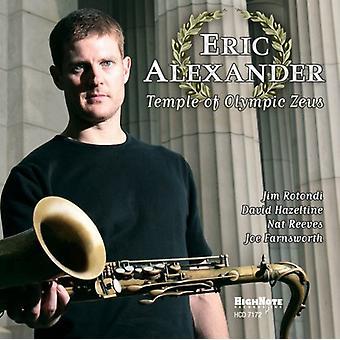 Eric Alexander - Temple of Olympic Zeus [CD] USA import