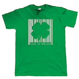 Made In Ireland Barcode Mens T Shirt