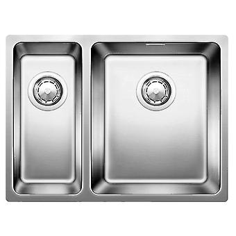 Blanco Sink Andano 180/340-U with automatic valve