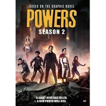 Powers: Season Two [DVD] USA import