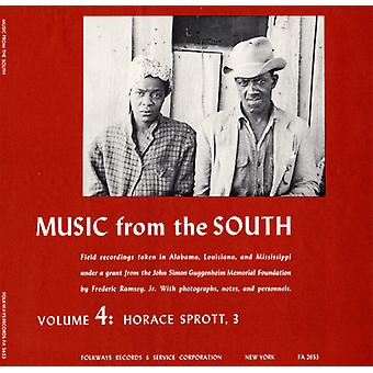 Horace Sprott - Vol. 4-Music From the South: Horace Sprott 3 [CD] USA import