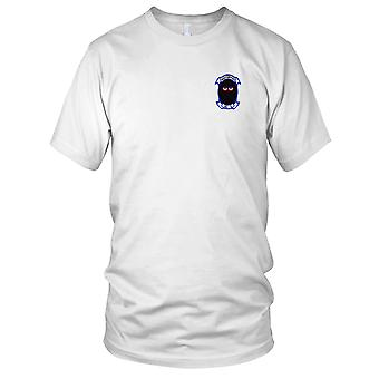 US Navy HS-5 Anti-Submarine Warfare Aviation Squadron Embroidered Patch - Mens T Shirt
