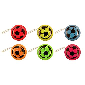 Box of 72 Mini Football Yo-Yos T26 053