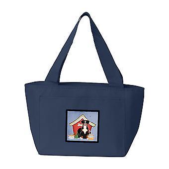 Carolines tesori BB2792NA-8808 cane casa collezione Entlebucher Lunch Bag