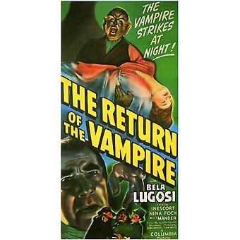 The Return of the Vampire Movie Poster (11 x 17)