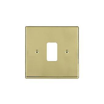 Hamilton Litestat Hartland Polished Brass 1g Apert Gridfix Plate+Grid