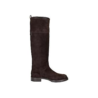 Dolce E Gabbana women's C18412AP28080078 brown suede boots