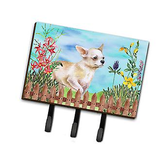 Carolines Treasures  CK1259TH68 Chihuahua Leg up Spring Leash or Key Holder