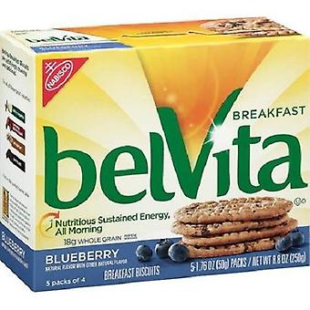 Belvita Blueberry Breakfast Biscuits 2 Box Pack