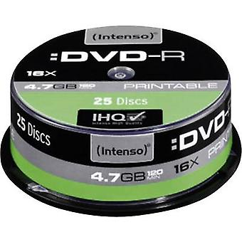 Blank DVD-R 4.7 GB Intenso 4801154 25 pc(s) Spindl