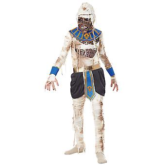 Pharaos Rache Pharao Mumie Ägypten Ägypten Zombie Horror jungen Kostüm