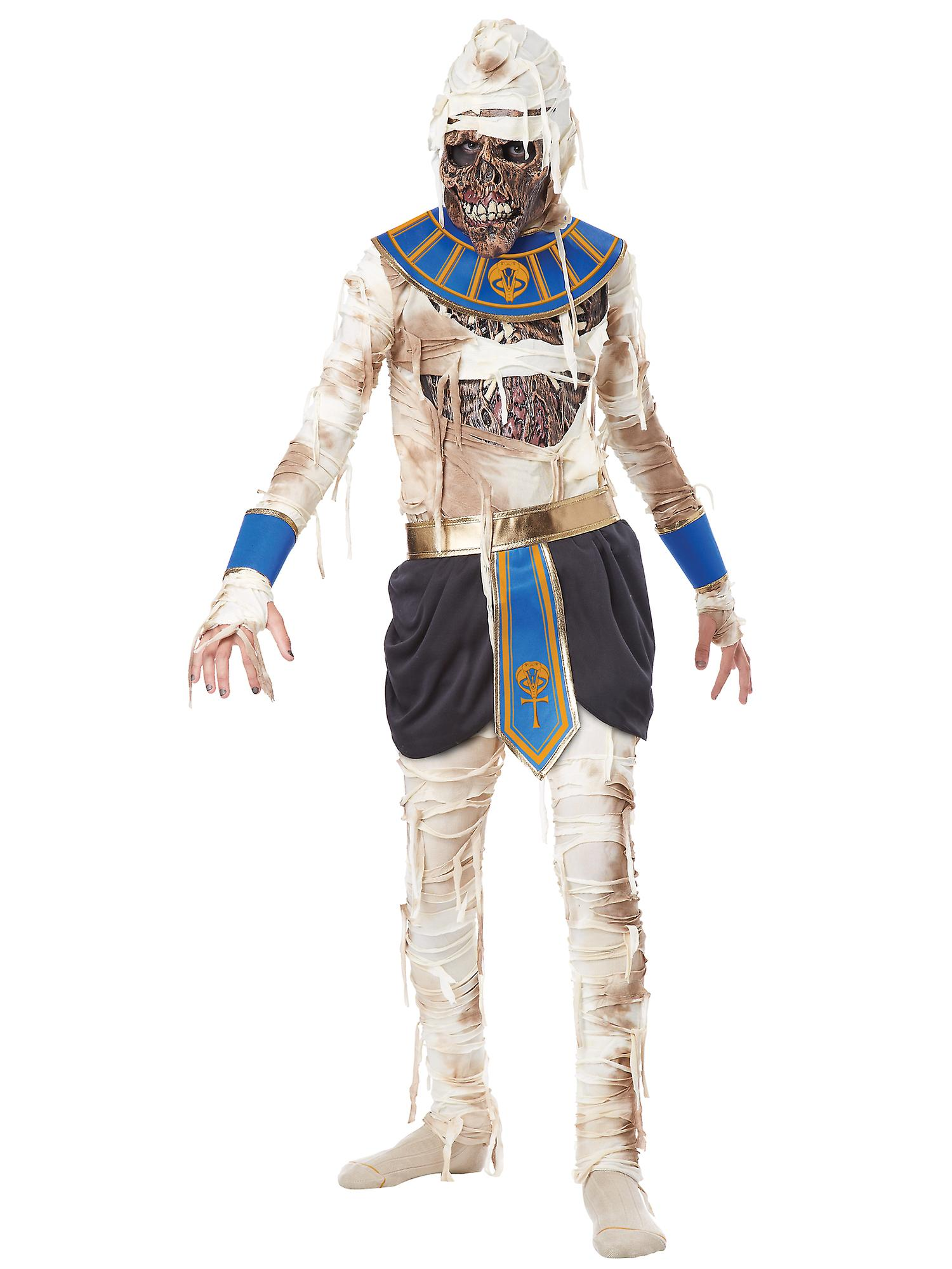 Pharaoh's Revenge Pharaoh Mummy Egyptian Egypt Zombie Horror Boys Costume