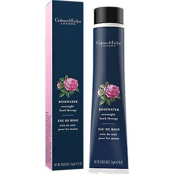 Crabtree & Evelyn Rosewater nuit main thérapie