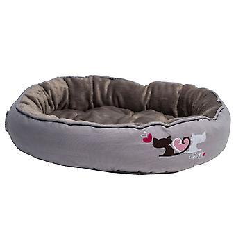Rogz Cat Snug Pod Cool Grey Medium