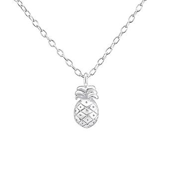 Pineapple - 925 Sterling Silver Plain Necklaces - W36502x