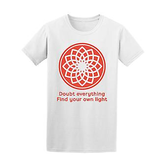 Doubt Everything Mandala Men's Tee - Image by Shutterstock