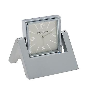 Chrome Pivot Clock & Picture Frame