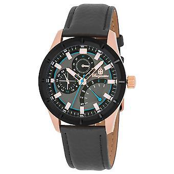 Burgmeister BM540-320 Thunder Bay, Gents watch, Analogue display, Quartz with Citizen Movement - Water resistant, Stylish leather strap, Classic men's watch