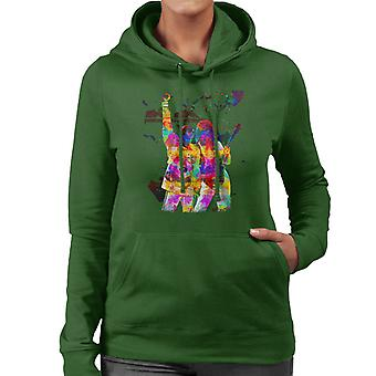 Brian May And Freddie Mercury 1989 Women's Hooded Sweatshirt