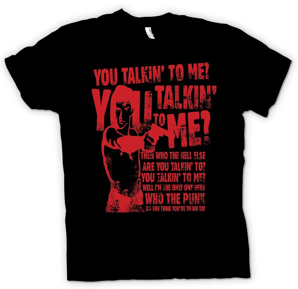 Mens T-shirt - You Talkin To Me - Bickle