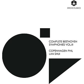 Beethoven, Larsen / Jansson / Cooley - Beethoven, Larsen / Jansson / Cooley: komplet Beethoven Symfonier Vol. 3 [CD] USA import