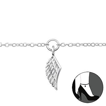 Wing - 925 Sterling Silver Anklets - W29971x