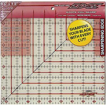 The Cutting EDGE Frosted Ruler-9-1/2
