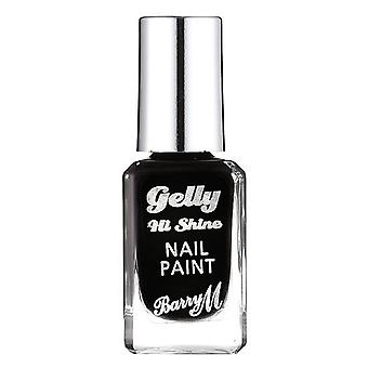 Barry M Barry M Gelly Hi Shine Nail Paint - Black Forest