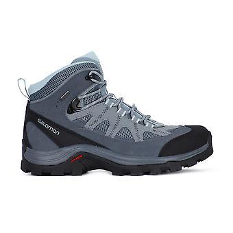 サロモン本物 Ltr Gtx W 404644 すべての年の女性の靴をトレッキング