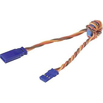 Servo Noise suppressor cable [1x JR plug - 1x JR socket] 300 mm